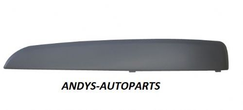 VAUXHALL / OPEL ZAFIRA 2005 - 2008  FRONT BUMPER MOULDING PAINTED ANY VAUXHALL COLOUR